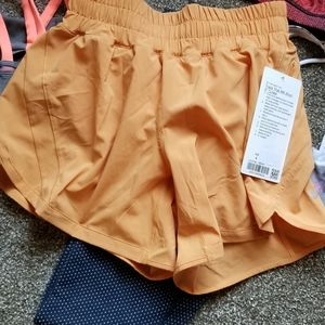 Lululemon size 4, 5 inch inseam tracker short